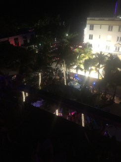 View from the rooftop of the Clevelander Hotel