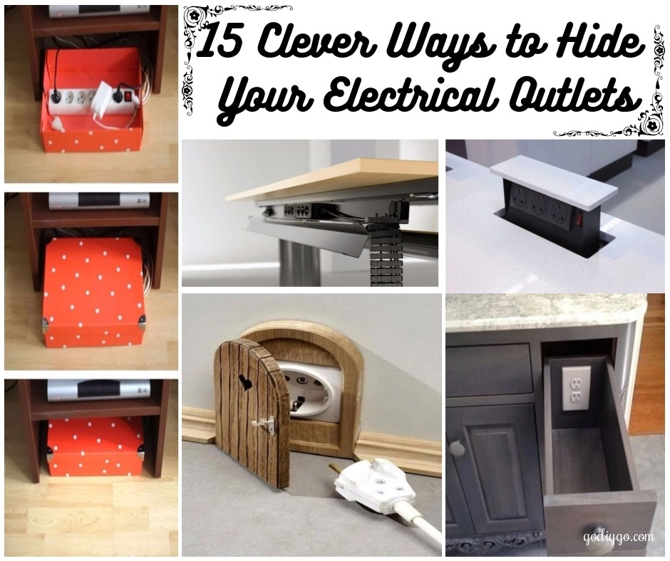 15 Clever Ways To Hide Your Electrical Outlets Godiygo Com