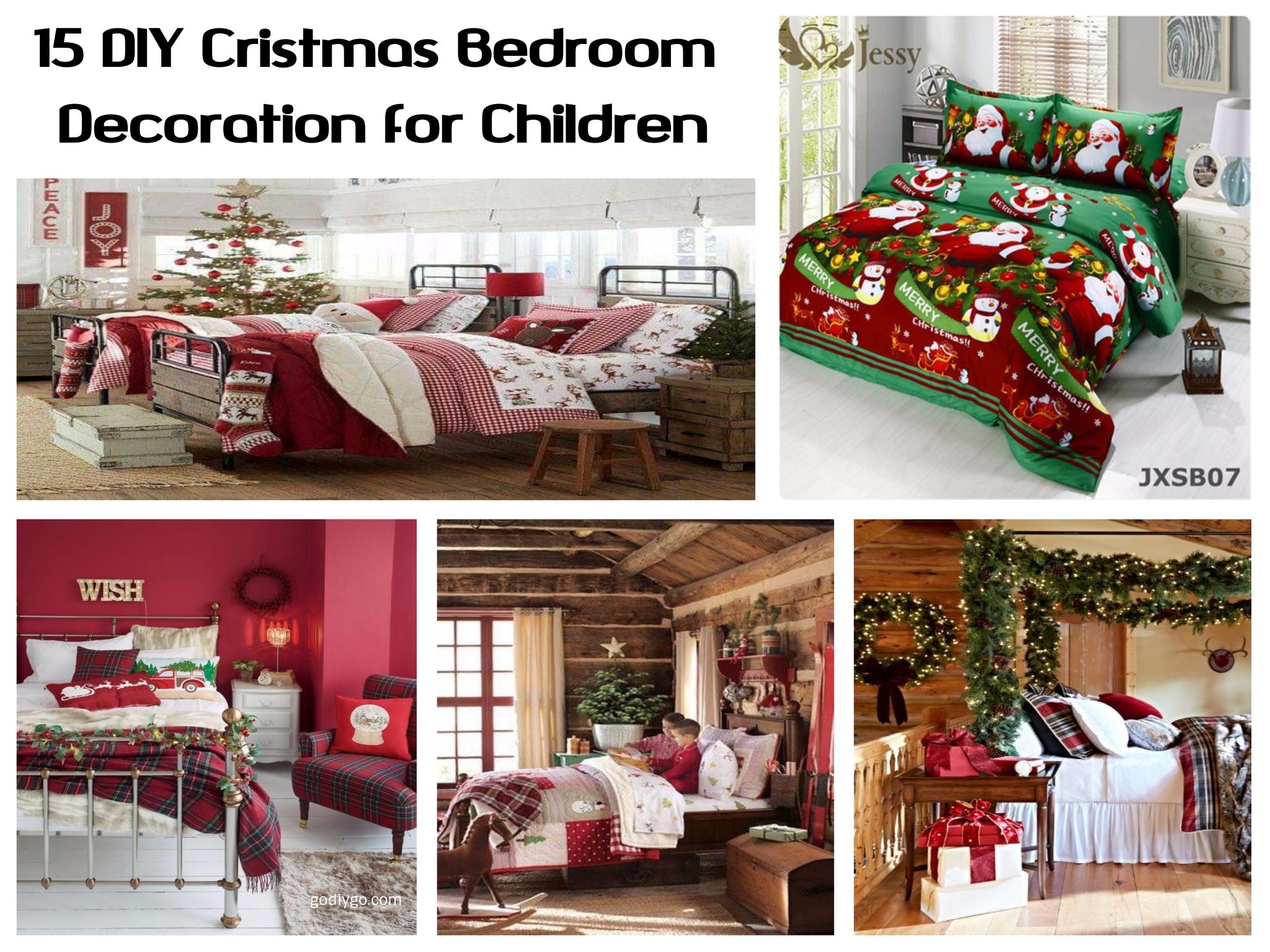 15 DIY Christmas Bedroom Decorations for Children & 15 DIY Christmas Bedroom Decorations for Children - GODIYGO.COM