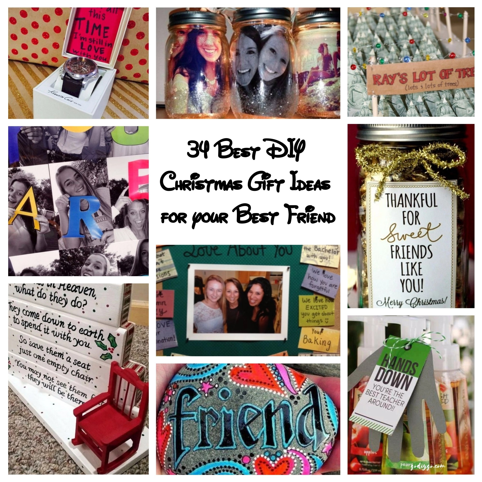 DIY Gift Ideas 10 Christmas Gifts Birthday For Best Friends Source 34