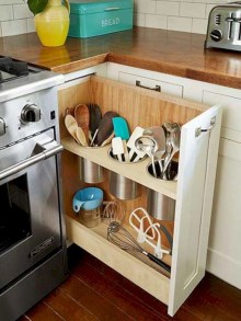 Awesome kitchen cupboard organization ideas 04