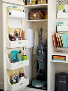 Awesome kitchen cupboard organization ideas 24