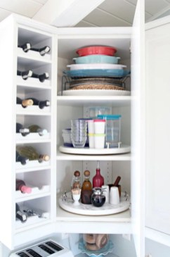 Awesome kitchen cupboard organization ideas 26