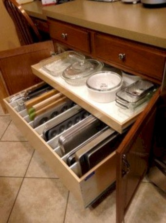 Awesome kitchen cupboard organization ideas 37