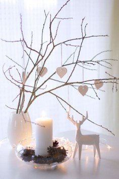 Diy decorating scandinavian christmas 07