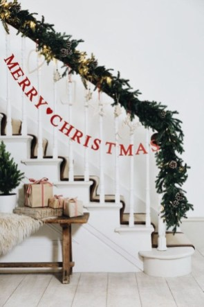 Diy decorating scandinavian christmas 17