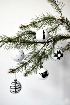 Diy decorating scandinavian christmas 25