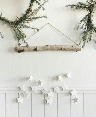 Diy decorating scandinavian christmas 34