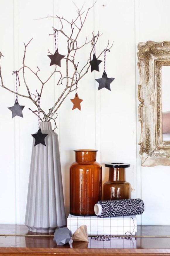 Diy decorating scandinavian christmas 42