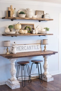 Diy farmhouse entryway inspiration 16