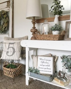 Diy farmhouse entryway inspiration 19