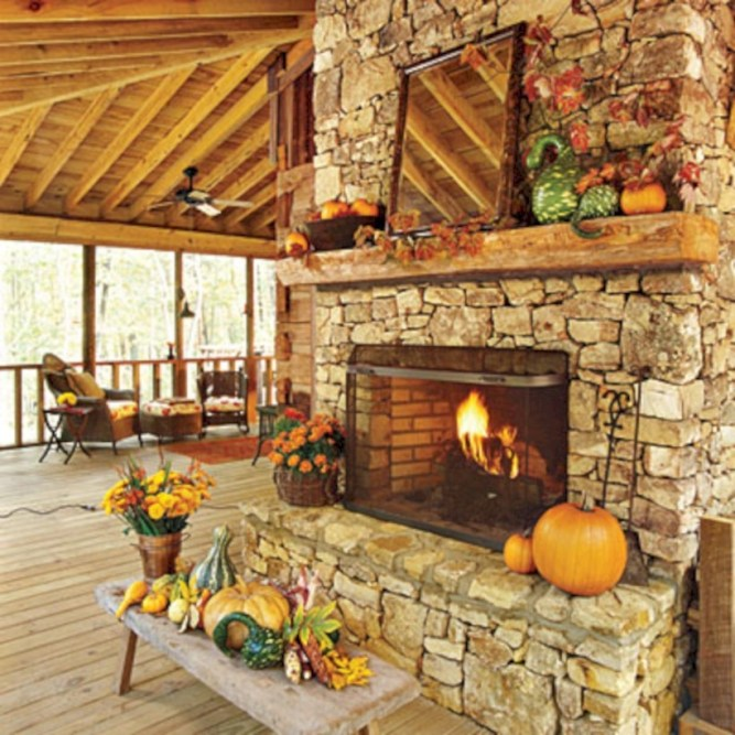 Diy outdoor fireplace and firepit ideas 01
