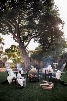 Diy outdoor fireplace and firepit ideas 10