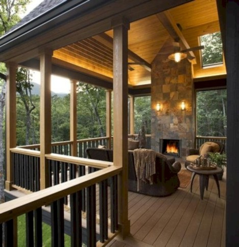 Diy outdoor fireplace and firepit ideas 11