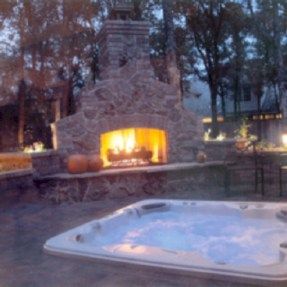 Diy outdoor fireplace and firepit ideas 12