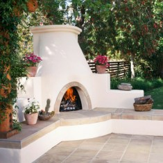 Diy outdoor fireplace and firepit ideas 18