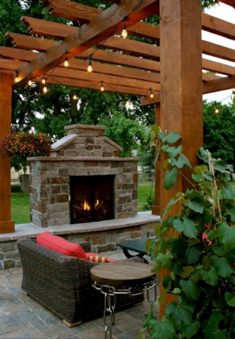 37 DIY Outdoor Fireplace and Fire pit Ideas - GODIYGO.COM on Diy Outdoor Fire id=35944