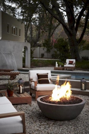 Diy outdoor fireplace and firepit ideas 34