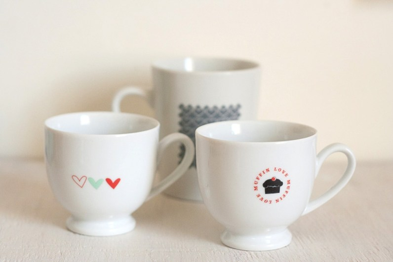 Diy painted porcelains to decorate your home 33
