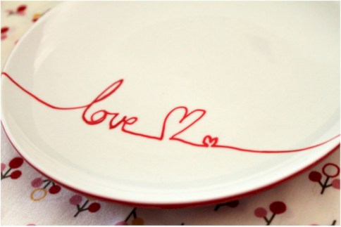 Diy painted porcelains to decorate your home 42