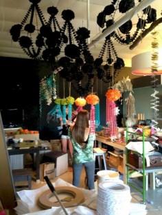 Diy polished chandelier planter 10