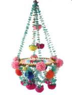 Diy polished chandelier planter 22