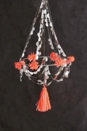 Diy polished chandelier planter 39