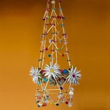 Diy polished chandelier planter 42