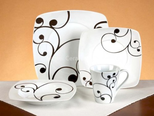 Diy sharpie dinnerware ideas 20