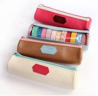 Diy small gift bags using washi tape (17)