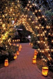 Fairy lights ideas for holiday decorating (18)