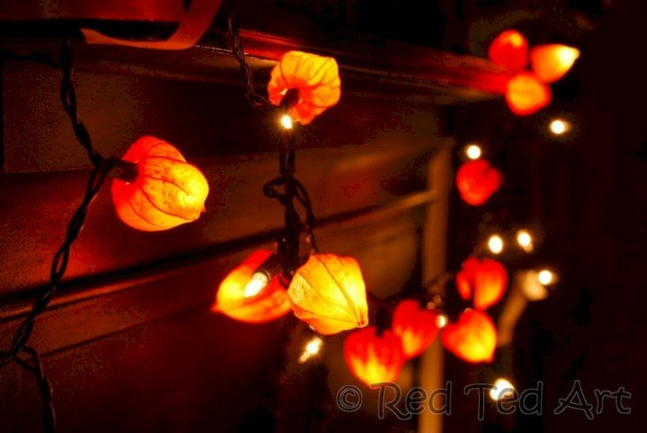 Fairy lights ideas for holiday decorating (37)