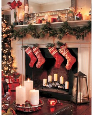 Ideas to decorate your space with candles for christmas 08