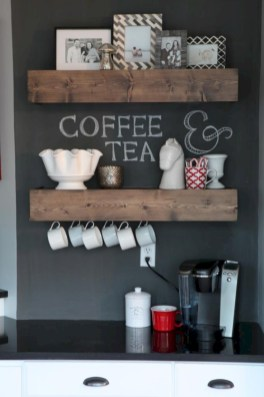 Inspiring ways to use a chalkboard paint on a kitchen 08