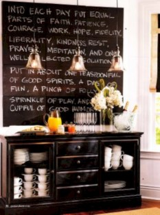 Inspiring ways to use a chalkboard paint on a kitchen 10