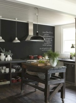 Inspiring ways to use a chalkboard paint on a kitchen 11