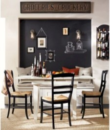 Inspiring ways to use a chalkboard paint on a kitchen 18