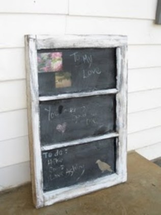 Inspiring ways to use a chalkboard paint on a kitchen 22