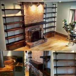 Savvy handmade industrial decor ideas 20