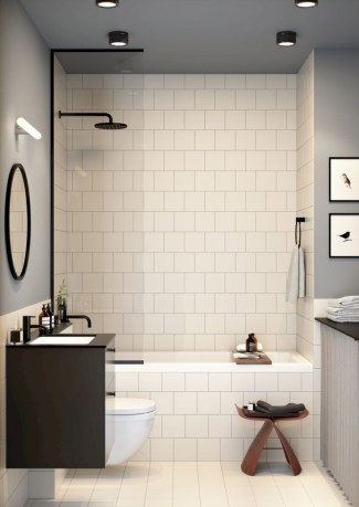 Small bathroom with bathtub ideas 14