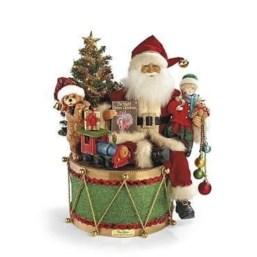 Adorable indoor animated christmas figures 01