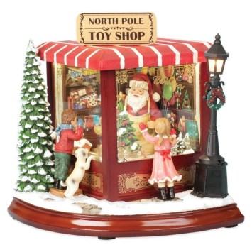 Adorable indoor animated christmas figures 19