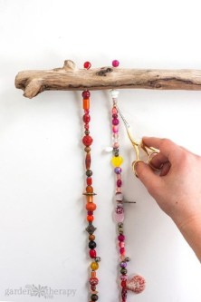 Beautiful beaded wind chime to add sparkle to the garden 13