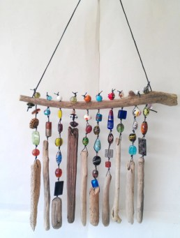 Beautiful beaded wind chime to add sparkle to the garden 14