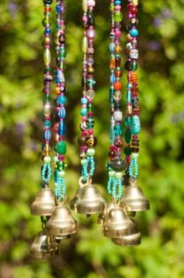 Beautiful beaded wind chime to add sparkle to the garden 31