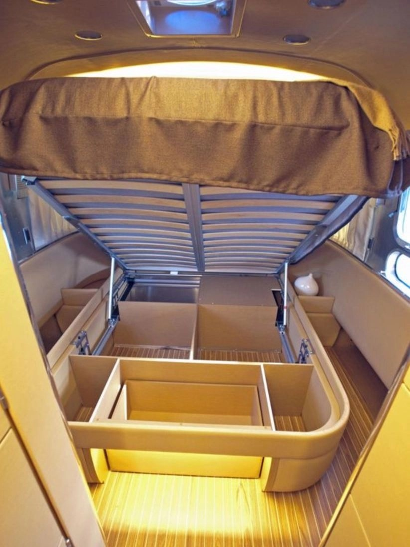 Diy bedroom storage ideas for save your rv space