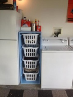 Diy ideas for your laundry room organizer 32