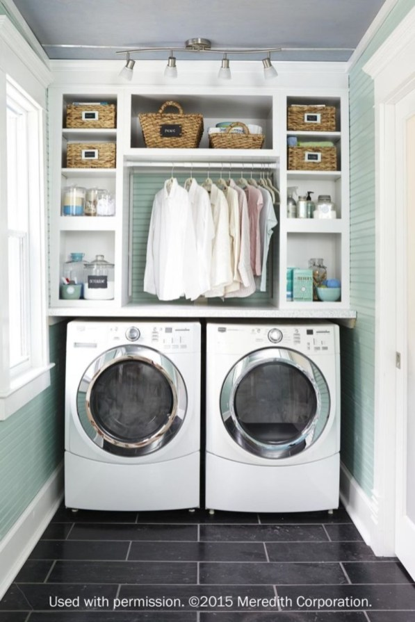 Diy ideas for your laundry room organizer 45