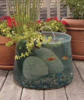 Diy indoor container water garden ideas 16