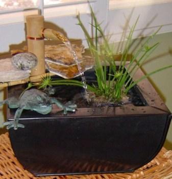 Diy indoor container water garden ideas 23